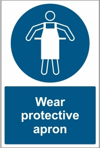 MED021 - Wear protective apron