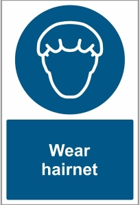 MED024 - Wear hairnet