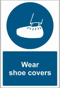 MED025 - Wear shoe covers