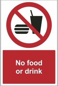 MED030 - No food or drink