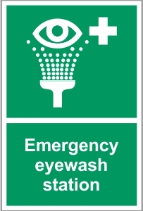 MED037 - Emergency eyewash station