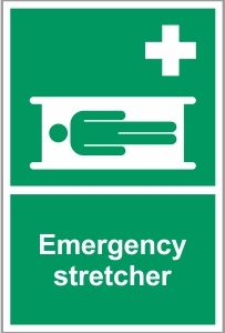 MED038 - Emergency stretcher