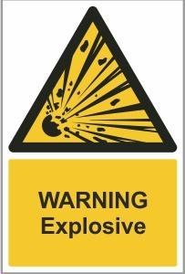 MED003 - Warning, Explosive