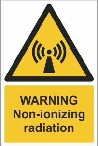 MED010 - Warning, Non-ionizing radiation