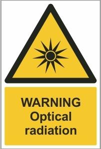 MED011 - Warning, Optical radiation
