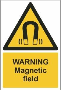 MED013 - Warning, Magnetic field