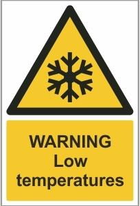 MED014 - Warning, Low temperatures