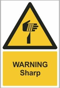 MED015 - Warning, Sharp