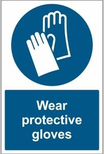 MED016 - Wear protective gloves