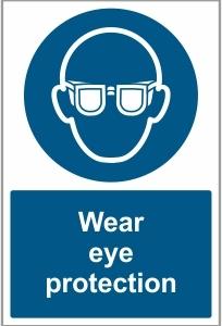 MED017 - Wear eye protection