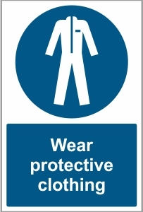MED019 - Wear protective clothing
