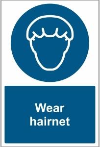 MED024 - Wear hairnet