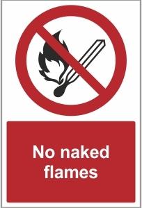 MED028 - No naked flames