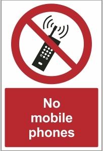 MED029 - No mobile phones
