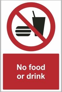 MED030 - No food or drink