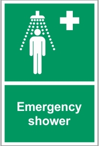 MED036 - Emergency shower