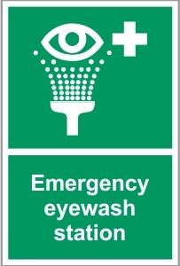 MED037 - Emergency eyewash station