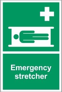 MED038 - Emergency stretcher