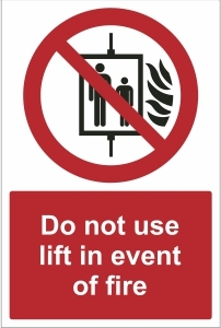 OFF018-Do-not-use-this-lift-in-event-of-fire