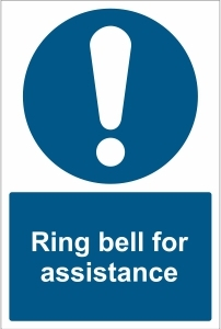 OFF029 - Ring bell for assistance