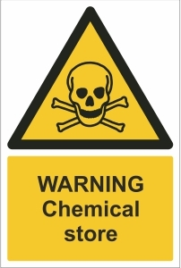OFF010-Warning,-Chemical-store