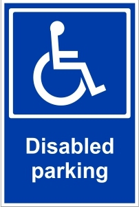 OFF039 - Disabled parking