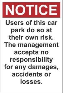 OFF041-Users-of-this-car-park-do-so-at-their-own-risk