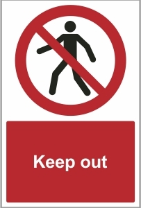 SEC013 - Keep Out