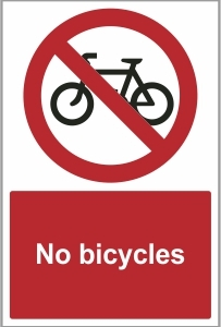 SEC021 - No bicycles