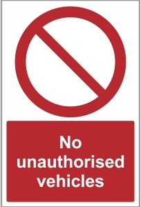 SEC024 - No unauthorised vehicles
