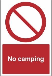 SEC027 - No camping