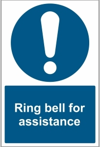 SEC028 - Ring bell for assistance