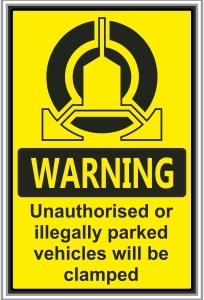 SEC033 - Vehicles will be clamped