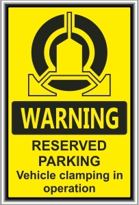 SEC035 - Reserved parking, Clamping in operation