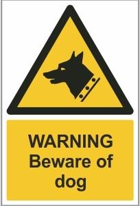 SEC005 - Warning, Beware of dog