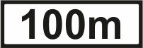 P001D - 100m