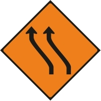 WK014 - Move to the left - 2 lanes