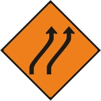 WK015 - Move to the right - 2 lanes