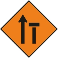 WK040 - Left lane of 2 closed