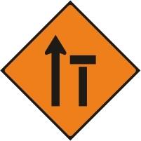 WK040 - Left lane of 2 closed