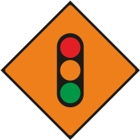 WK060 - Temporary traffic lights