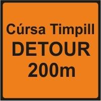 WK090 - Detour 200m