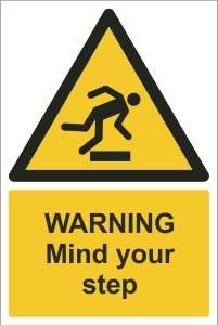 SCH007 - Warning, Mind your step