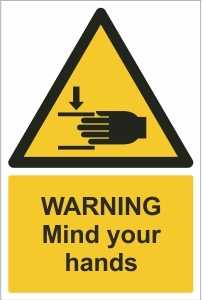 SCH009 - Warning, Mind your hands