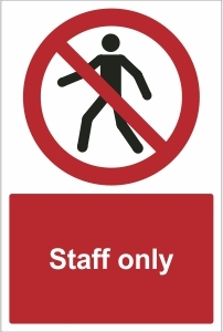 SCH013 - Staff only