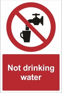 SCH020 - Not drinking water