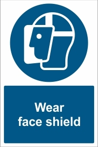 SCH026 - Wear face shield