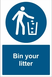 SCH028 - Bin your litter