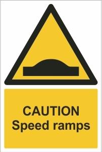 SCH004 - Caution, Speed ramps