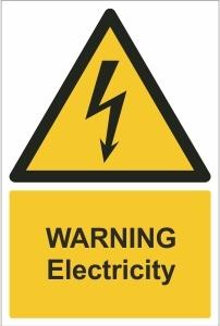 SCH005 - Warning, Electricity